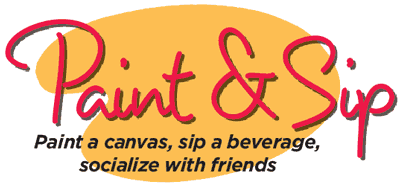 Paint and Sip logo